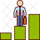 Career Promotion Graph Icon