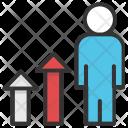 Businessman Promotion Icon