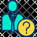 Businessman Question Icon