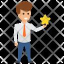 Entrepreneur Performance Employer Icon