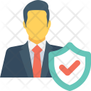 Businessman security Icon