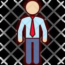 Executive Business Man Icon