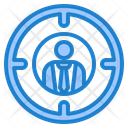 Businessman Target Icon