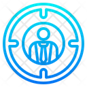 Businessman Target Icon