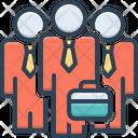 Businessman Team Icon
