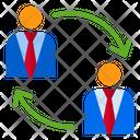 Businessman Transfer Icon