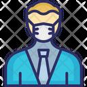 Businessman Businessperson Manager Icon
