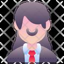 Businesswoman Business Woman Woman Icon
