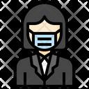 Businesswoman Woman User Icon