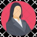 Woman Profile Avatar Icon