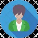 Businesswoman Lady Secretary Icon