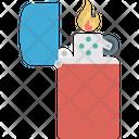 Butane Refillable Lighter Icon