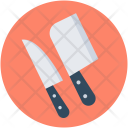 Butcher Knife Cleaver Icon