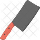 Cleaver Cutting Tool Icon