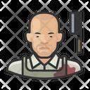 Butcher Asian Male Butcher Asian Icon