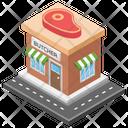 Butchers Shop Meat Store Meat Shop Icon