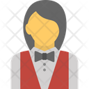 Butler Female Server Occupation Icon