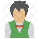 Butler Waiter Chauffeur Icon