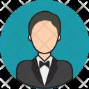 Butler Avatar People Icon