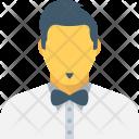 Butler Waiter Young Icon