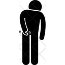 Butt scratch Icon