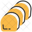 Butter Cake Food Icon