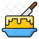 Butter Bakery Food Dairy Product Icon