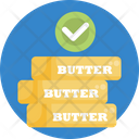 Keto Diet Butter Healthy Icon