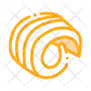 Butter Curl Margarine Icon