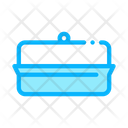 Butter Dish Icon