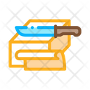 Butter Slices Margarine Icon
