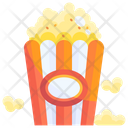 Buttered popcorn Icon