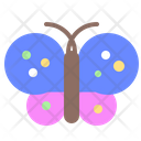 Butterfly Spring Worm Icon