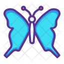 Butterfly Easter Insect Icon