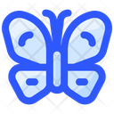 Spring Butterfly Insect Icon