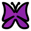 Butterfly Bug Wings Icon