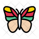 Butterfly Insect Beautiful Icon