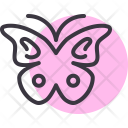 Butterfly Flutter Insect Icon