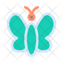 Butterfly Nature Landscape Icon