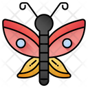 Butterfly Animal Insect Icon