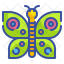 Butterfly Bug Animal Garden Spring Season Butterfly Insect Icon