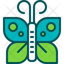 Butterfly Insect Caterpillar Icon