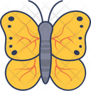Butterfly Insect Fly Icon