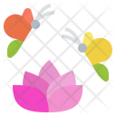 Butterfly Insect Flower Icon