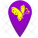 Geo Point Insect Icon