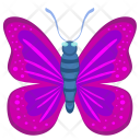 Pink Violet Insect Icon