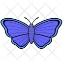 Violet Insect Butterfly Icon