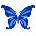 Colored Insect Butterfly Icon