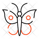 Butterfly Moth Insect Icon