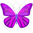 Violet Wings Insect Icon